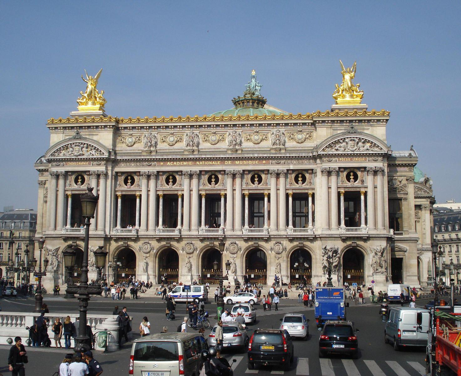 Palais Garnier-Opéra National de Paris_Paris