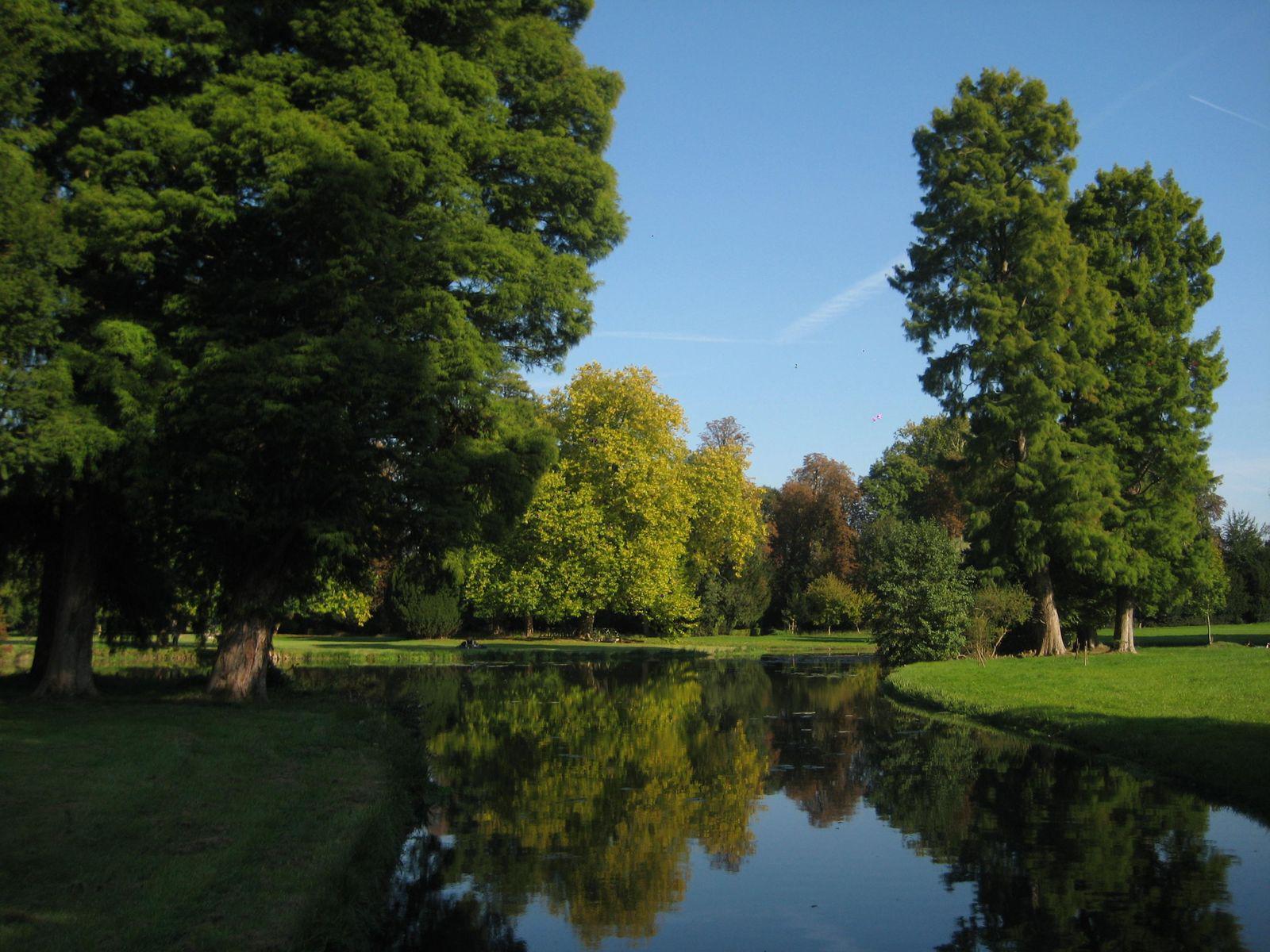 château Jardin anglais-Parc_Chantilly