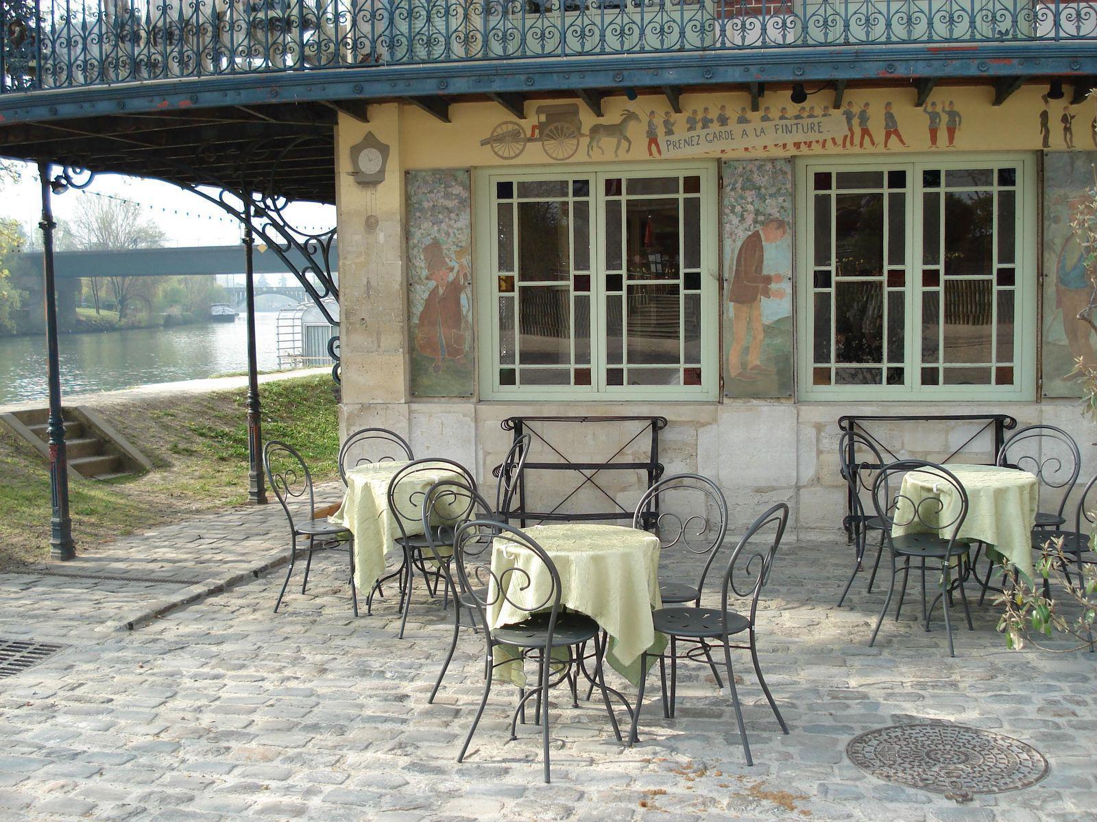 Au berges de la Seine_Chatou