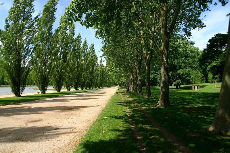 Parc et chateau de Sceaux