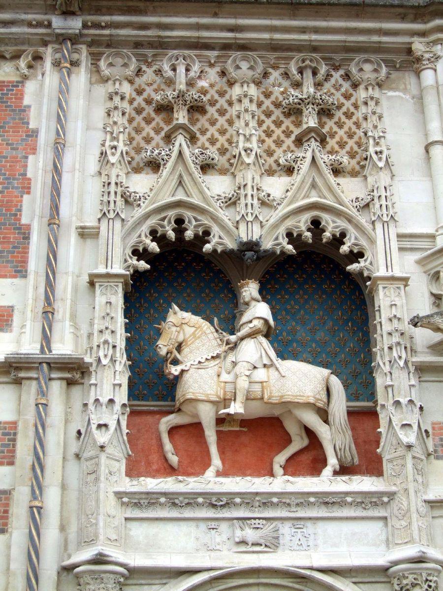 Statue équestre de Louis XII_Blois