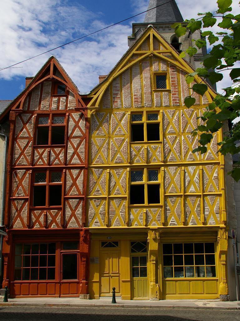 Maisons à colombages_Montrichard