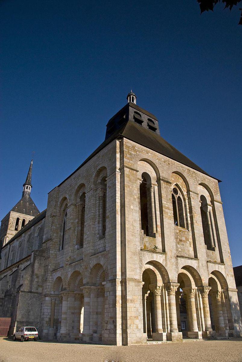 Abbaye_Saint Benoit sur Loire