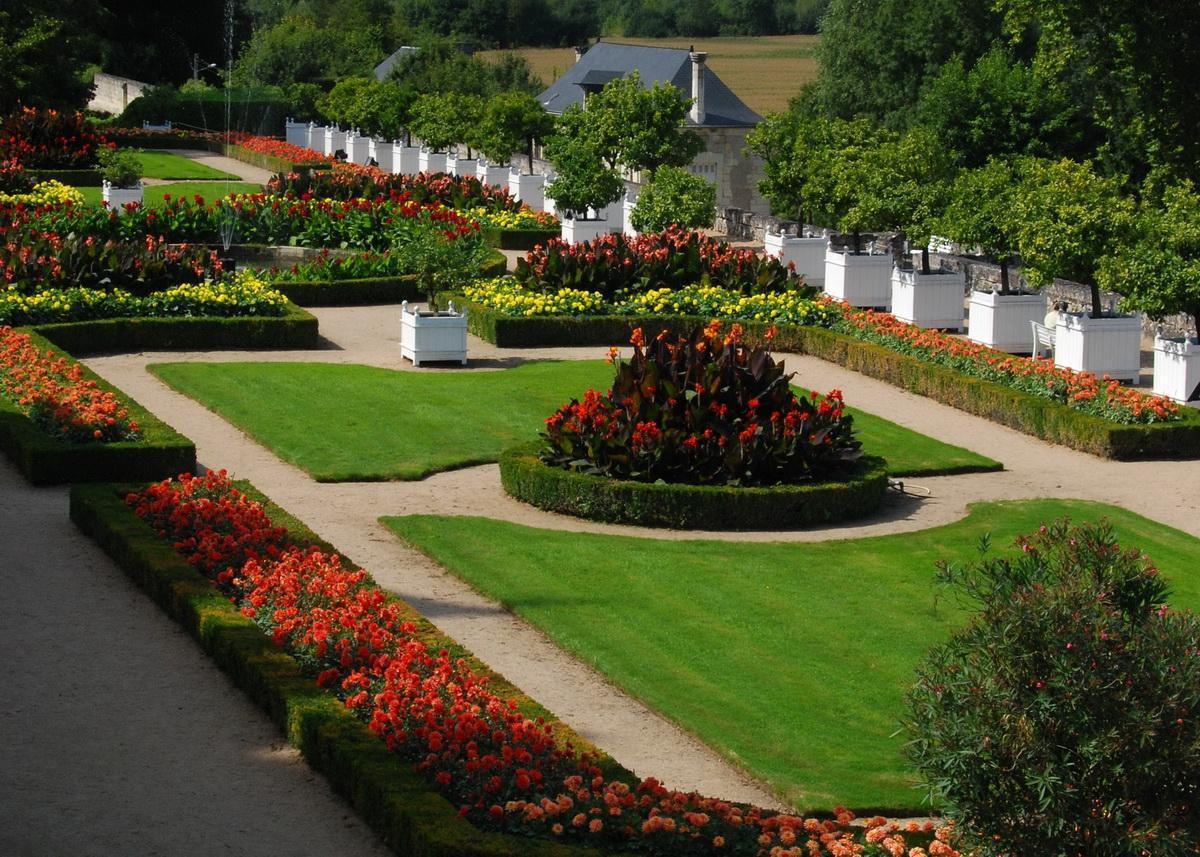 Château jardin d'Ussé_Rigny