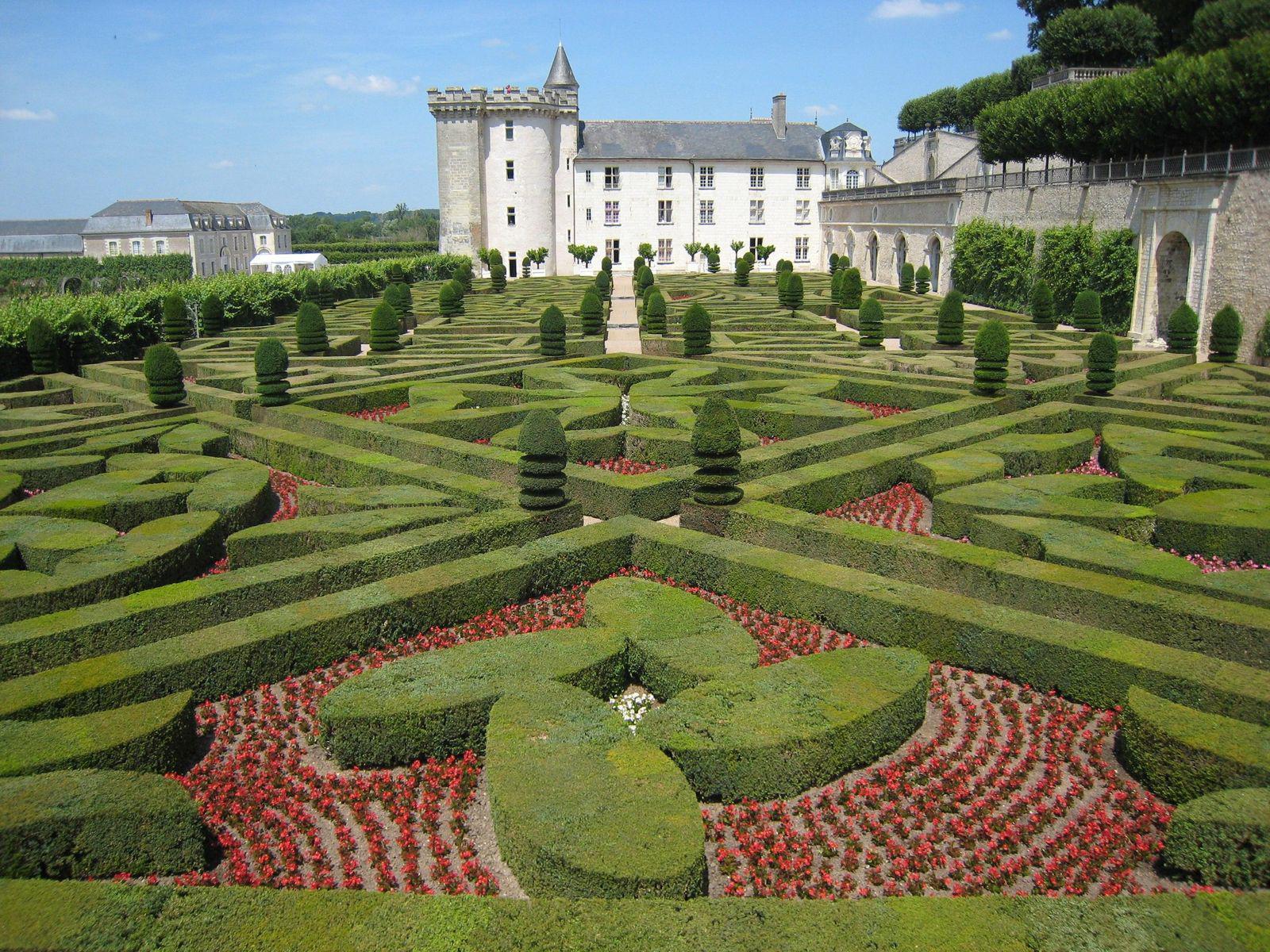 Jardins et château_Villandry