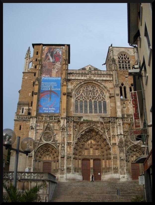Cathédrale Saint Maurice_Vienne