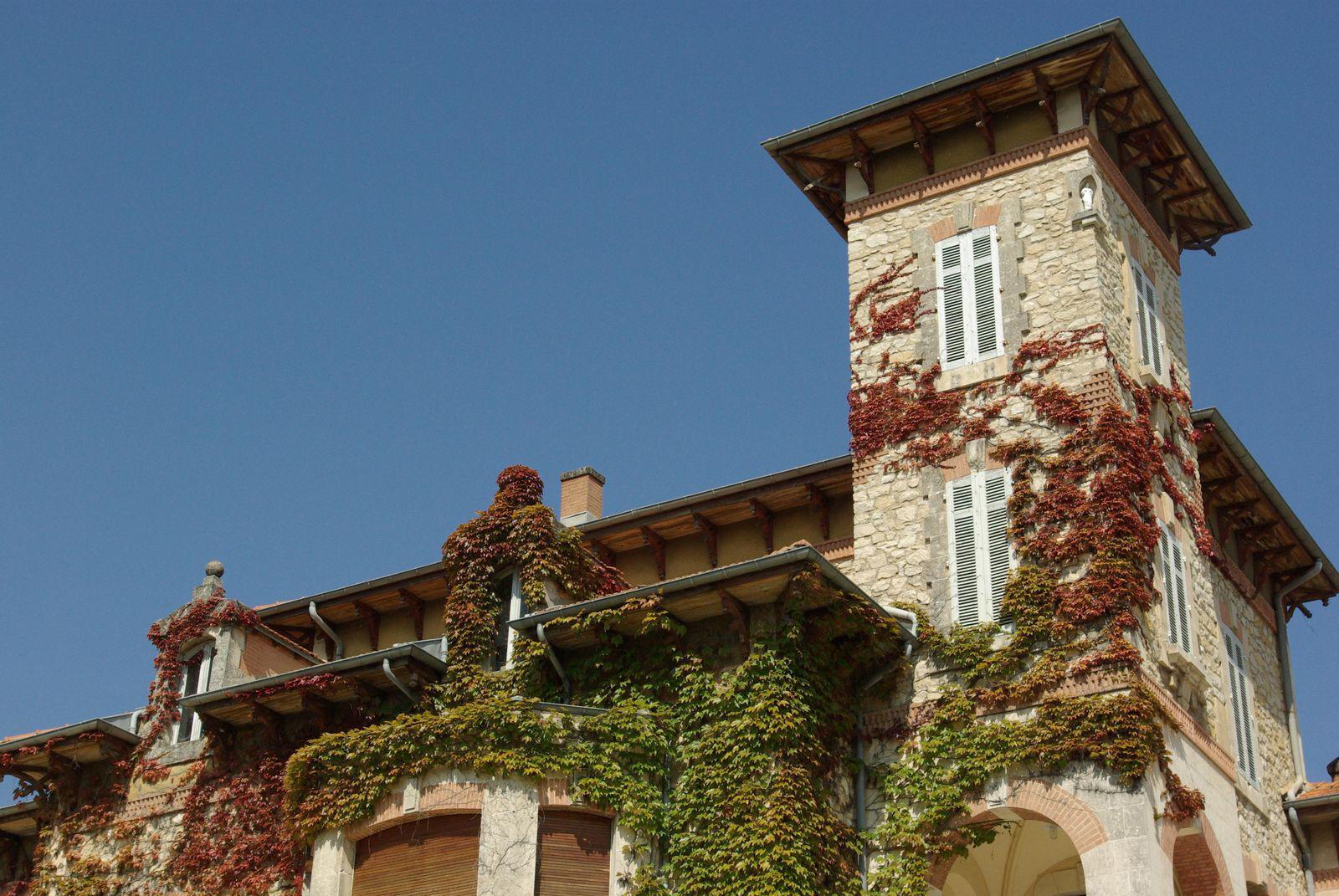 Le château du parc Pradel_Bourg Saint Andéol