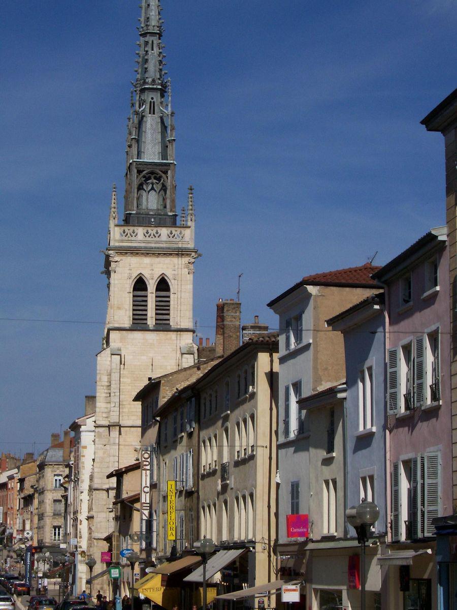 Rue centrale_Villefranche sur Saône