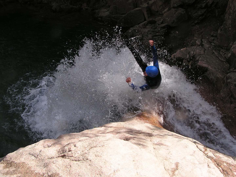 expérience canyon