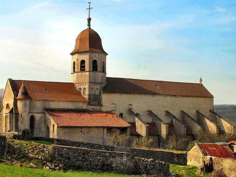 Abbatiale St Pierre de Gigny_Gigny