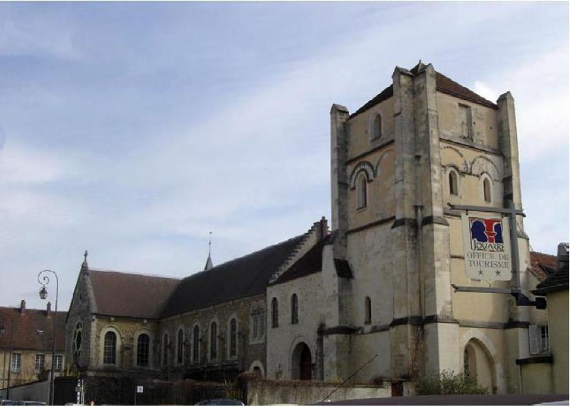 Abbaye de Jouarre - Tour romane_Jouarre
