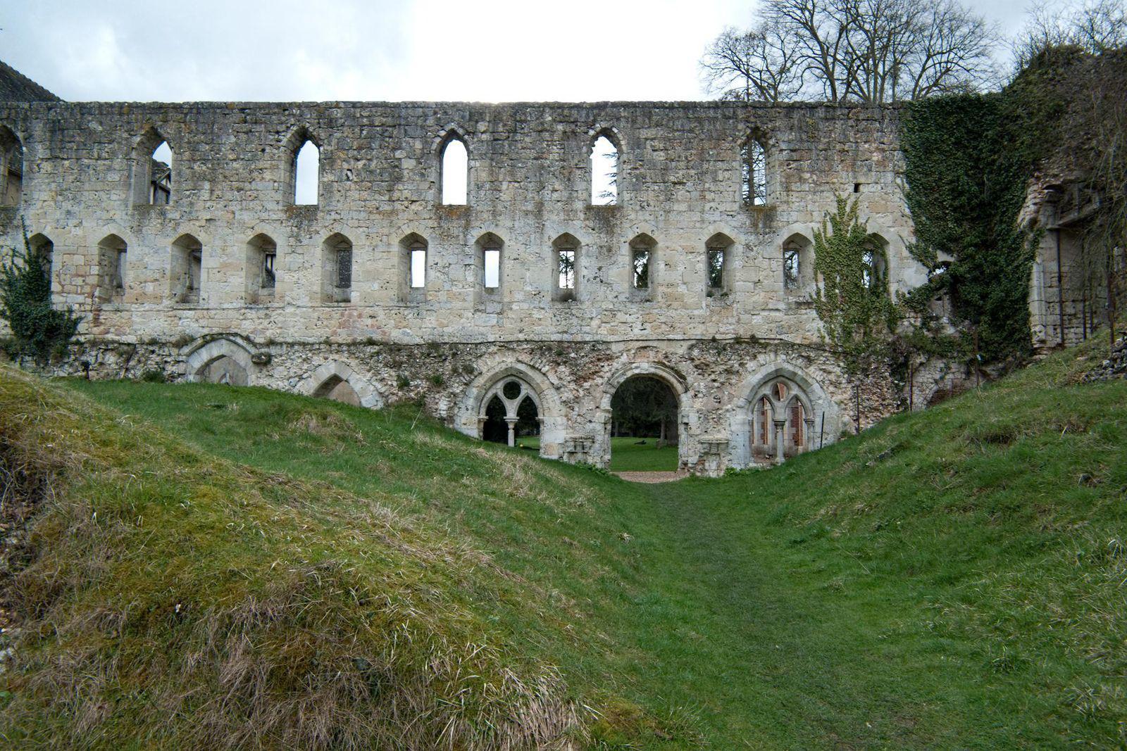 Image : Abbaye de Mortemer, Lisors (27)