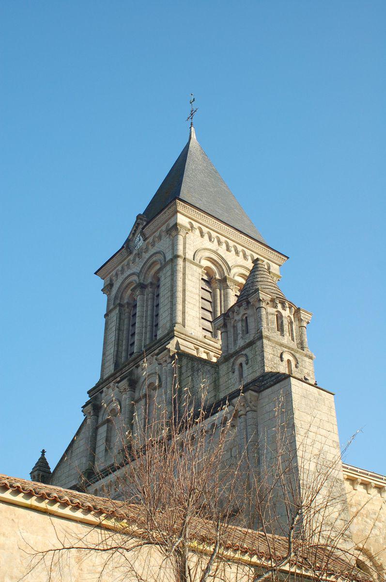 Abbaye St-Vincent-de-Nieul_Nieul-sur-l'Autise