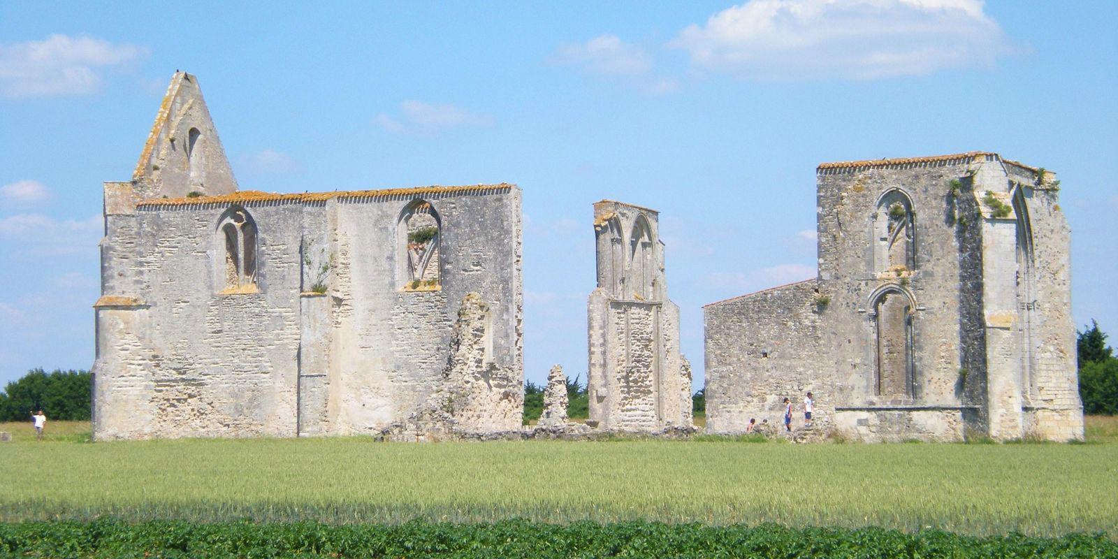 Ancienne abbaye des Châteliers_La Flotte