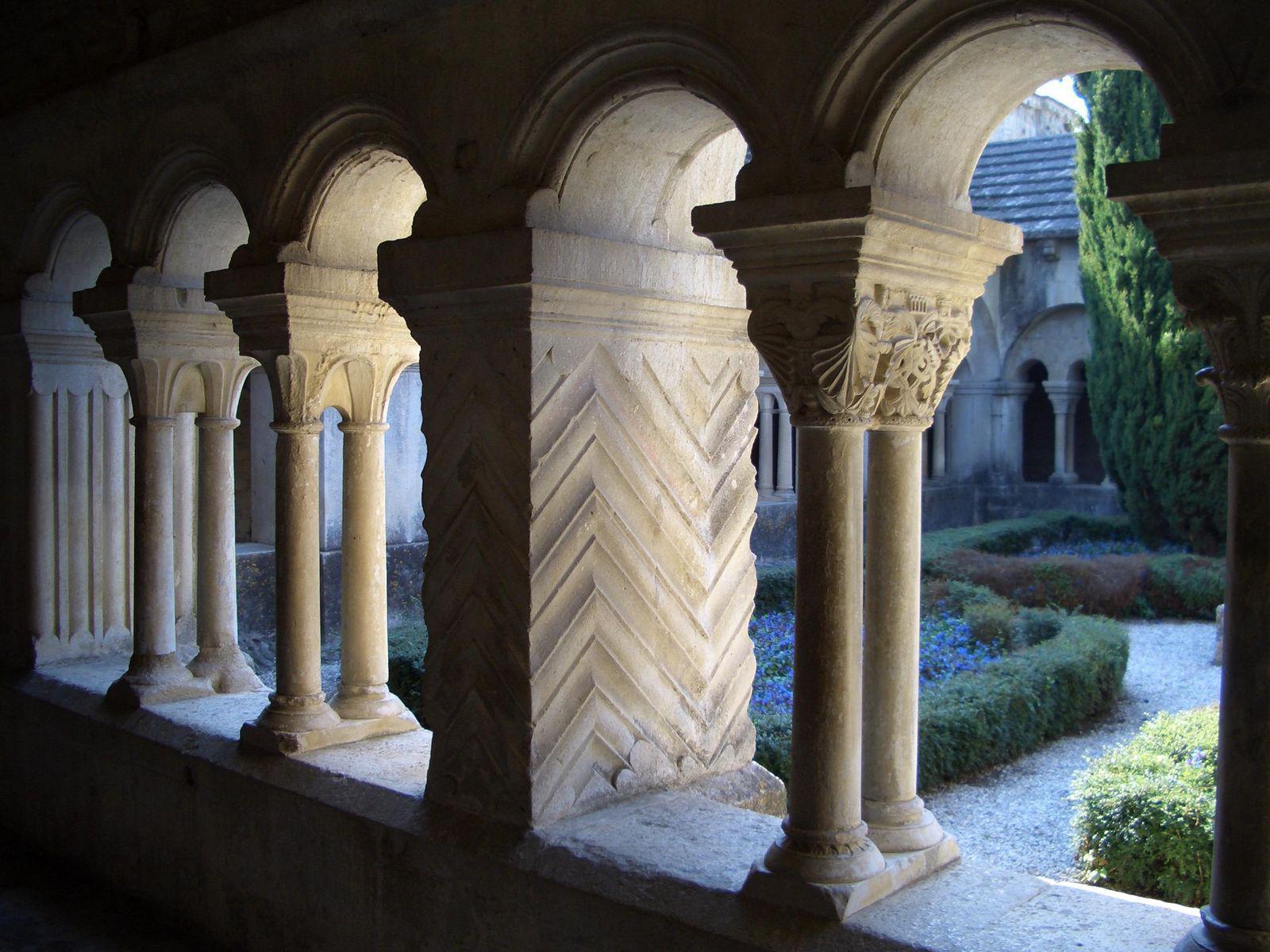 cloître de Cathédrale Notre Dame de Nazareth_Vaison-la-Romai