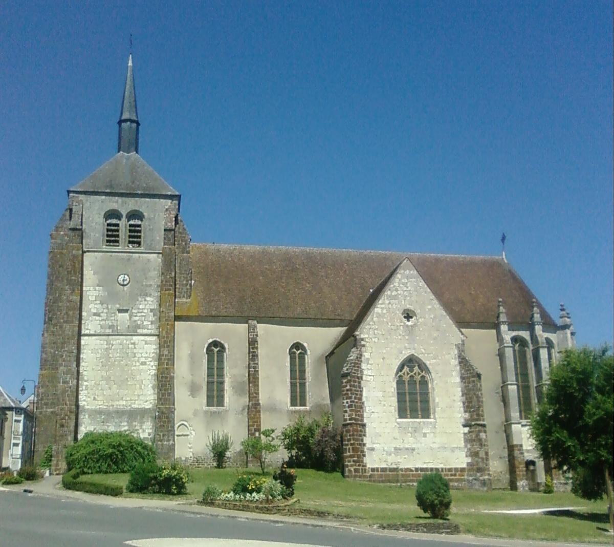 Collégiale et Crypte avec fresques_Saint-Aignan (2)