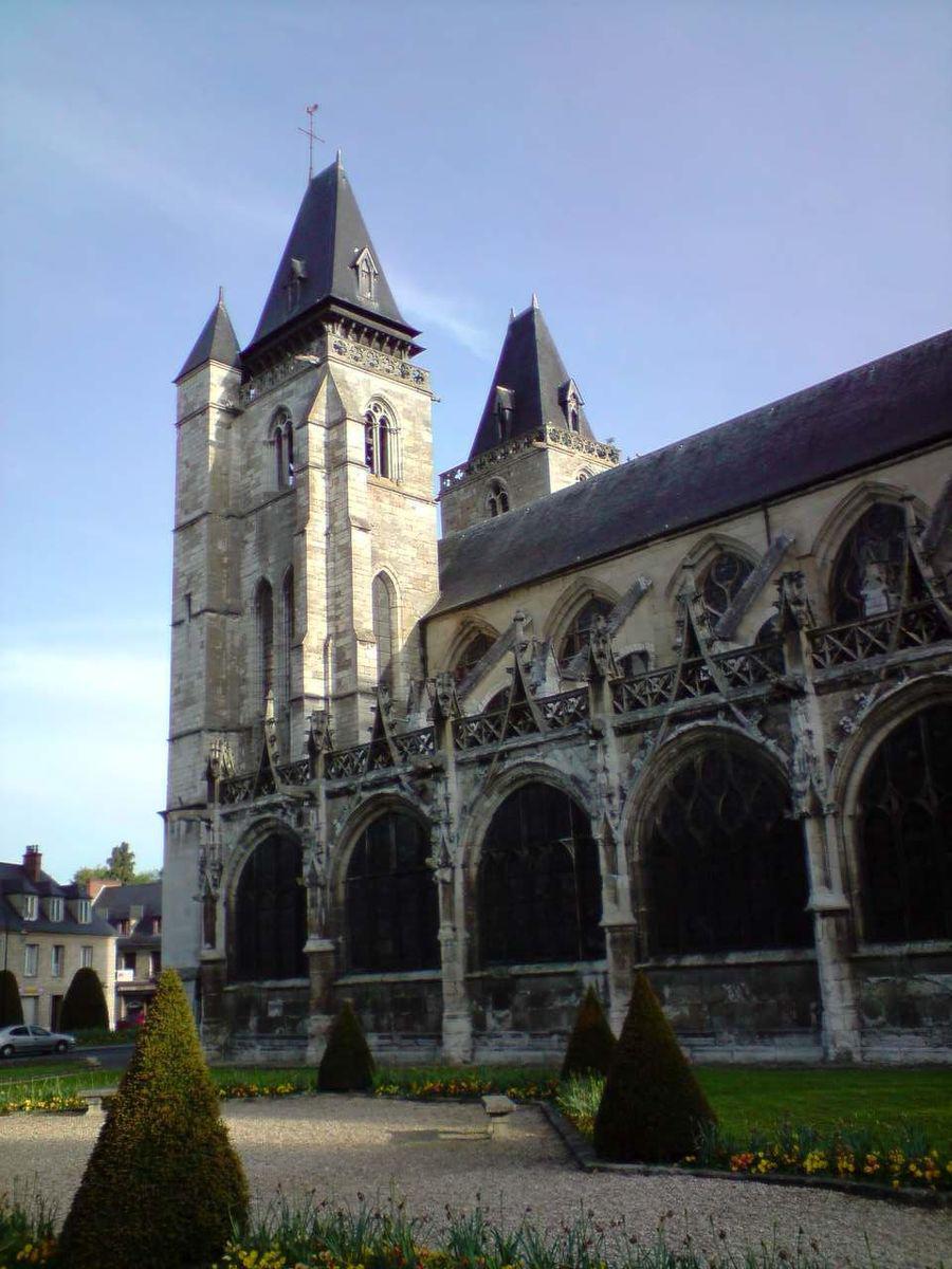 Image : Collégiale Notre-Dame des Andelys