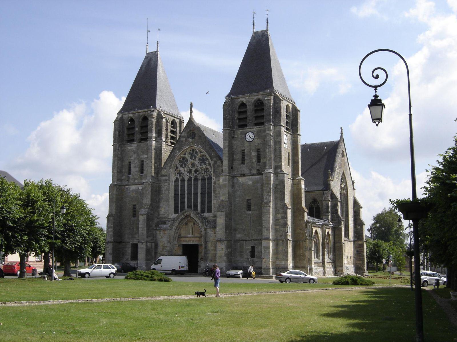 Image : Collégiale Notre-Dame de l'Assomption de Écouis