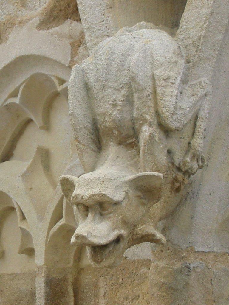 Gargouille de la Tour Pey Berland_Bordeaux