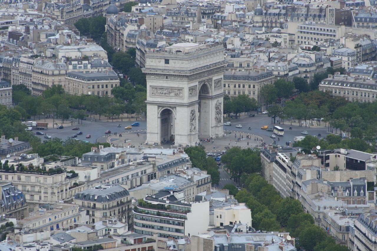 Arc de triomphe_Paris (2)