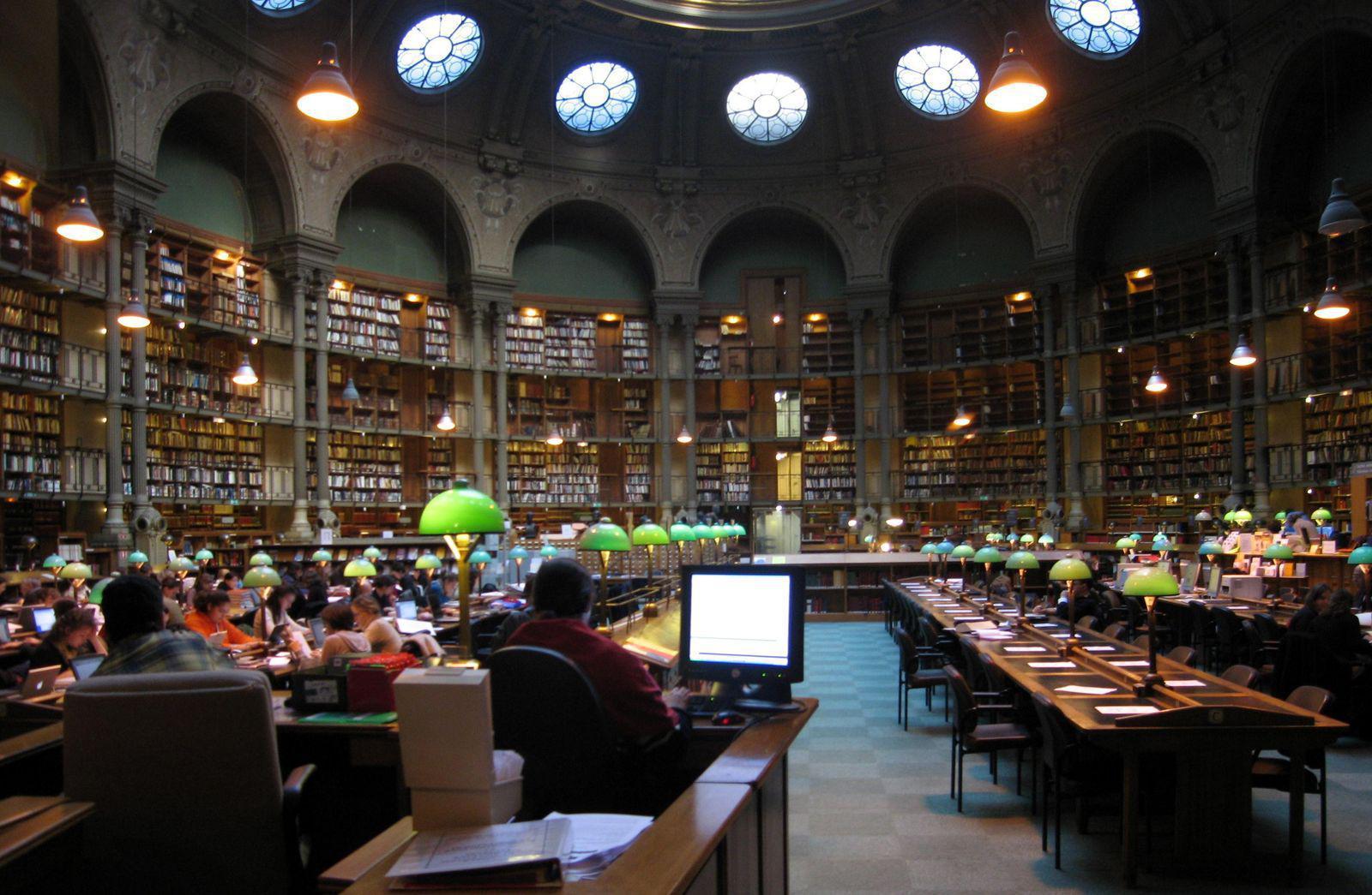 Bibliothèque Nationale de France - Site Richelieu_Paris