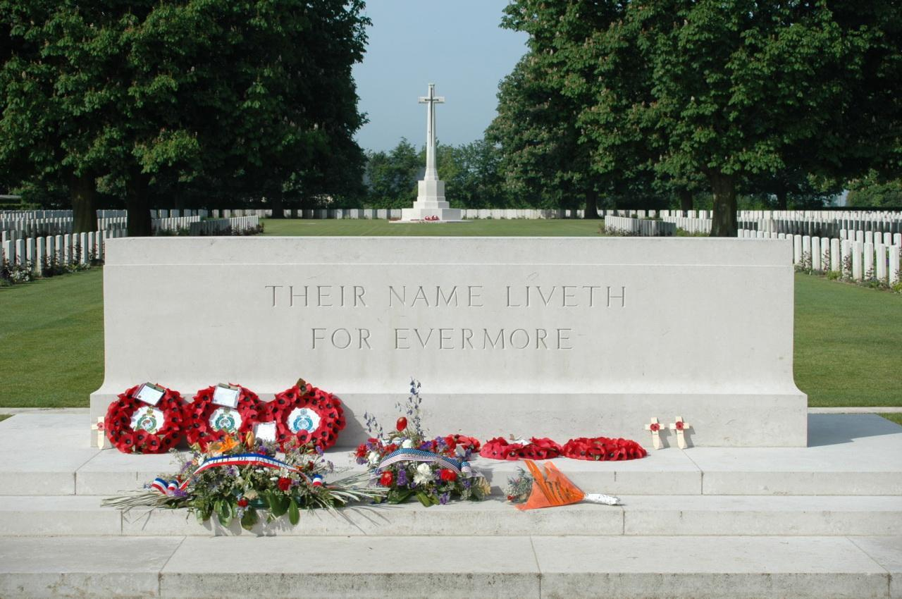 Cimetière Militaire Britannique_Bayeux (1)