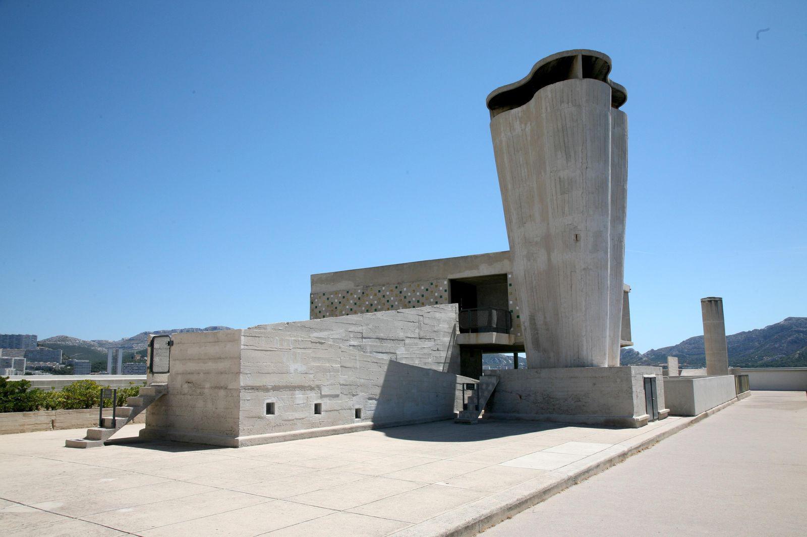 Cité radieuse de le Corbusier_Marseille