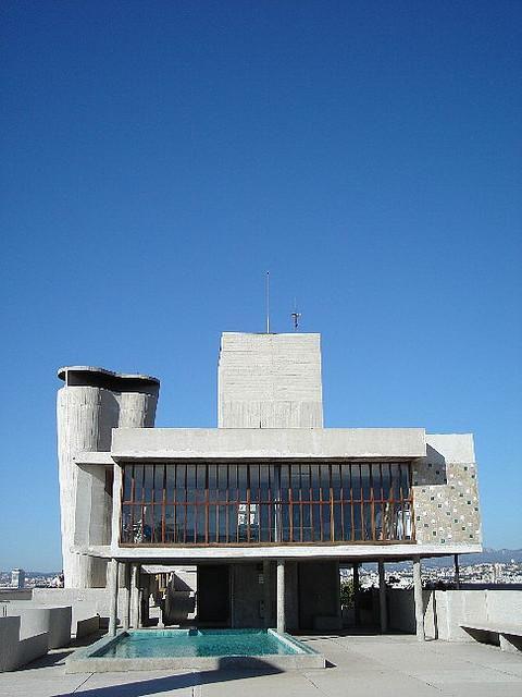 Cité radieuse de le Corbusier_Marseille (1)