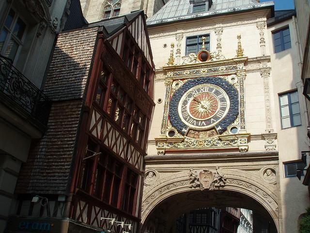 GROS HORLOGE ET BEFFROI_Rouen