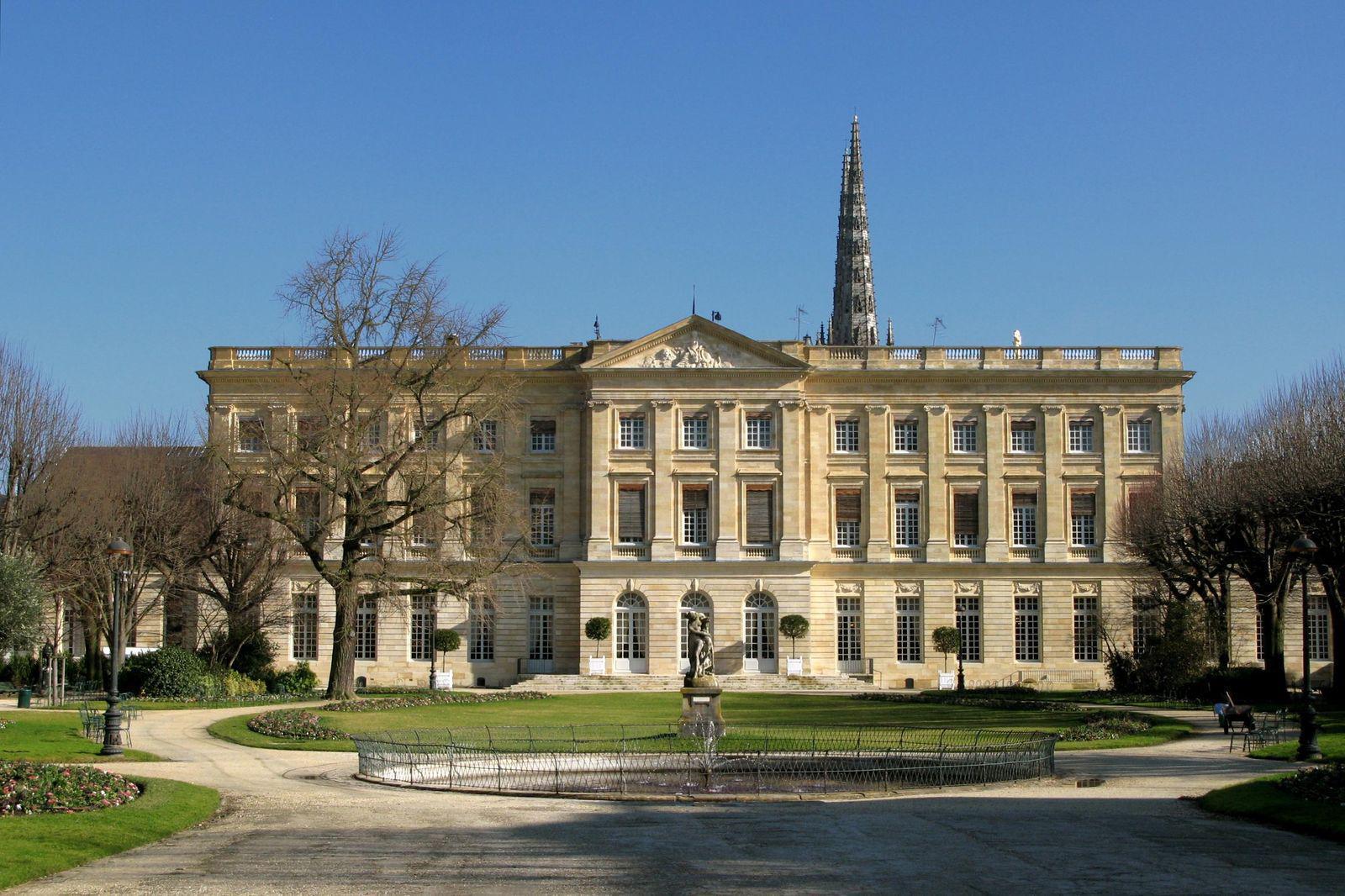 Hôtel de ville - palais Rohan_Bordeaux