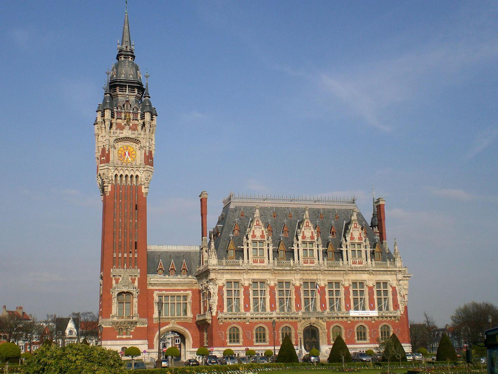 Hôtel de Ville et beffroi_Calais