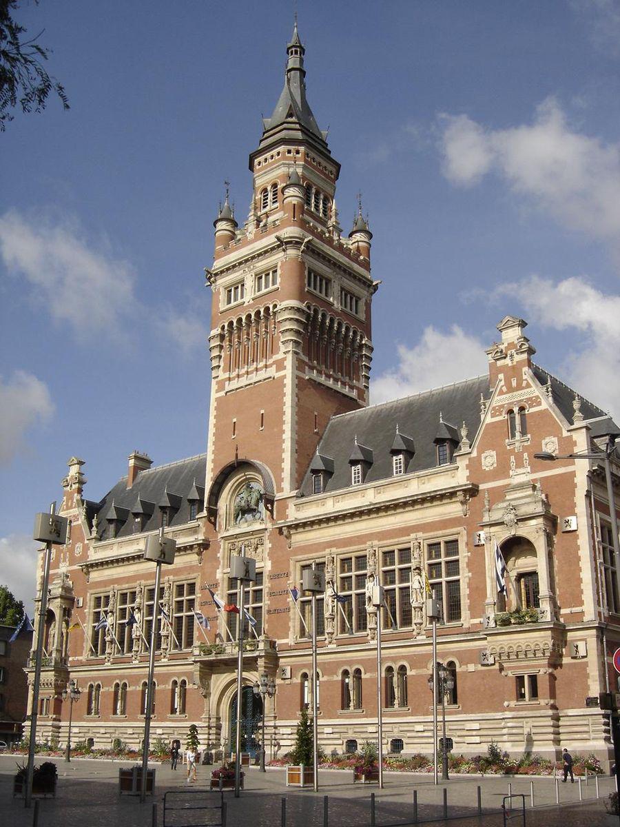 Hôtel de ville et beffroi_Dunkerque