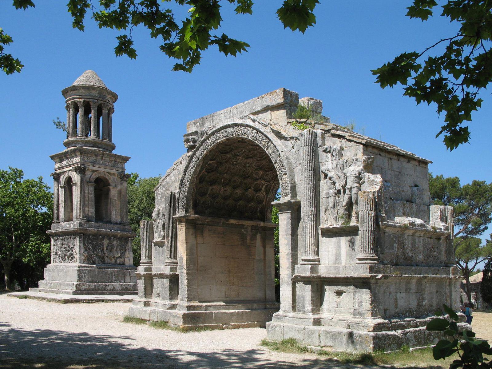 Les Antiques_Saint-Rémy-de-Provence