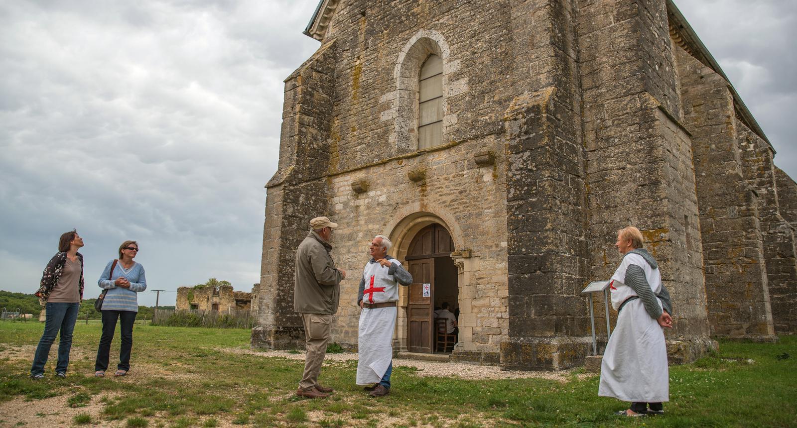 Visite Templière,  Commanderie d'Avalleur