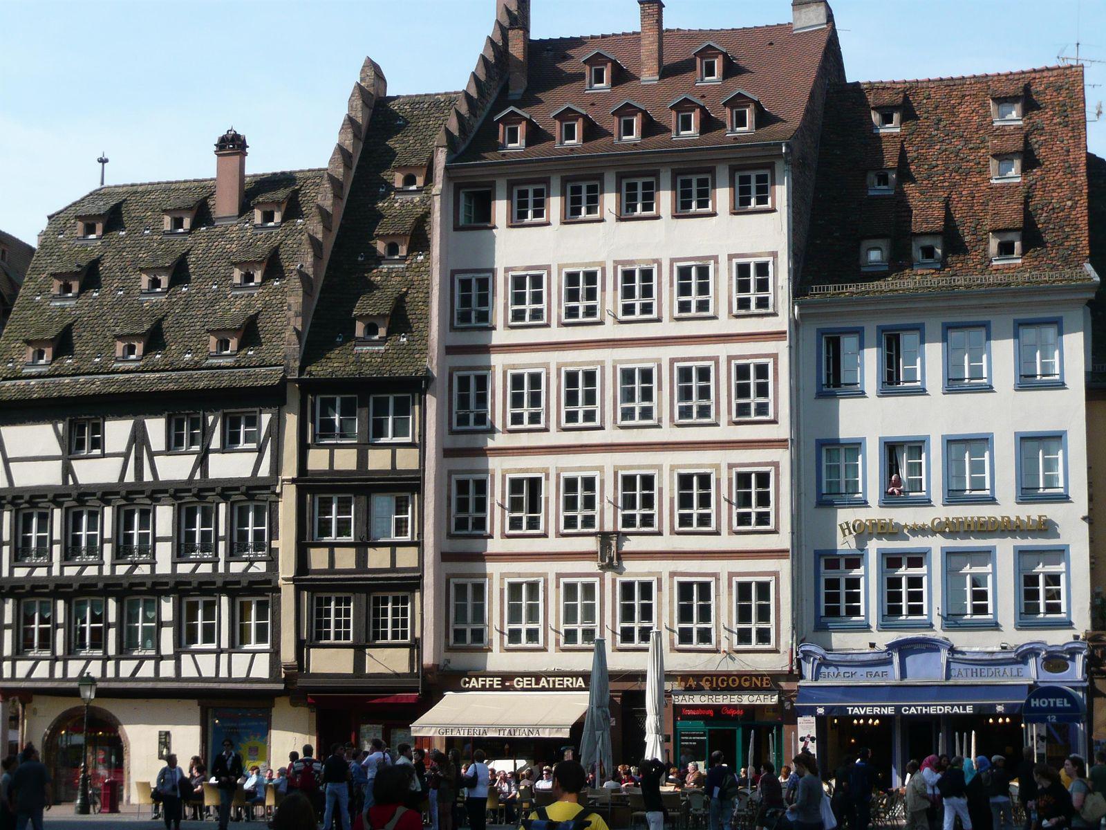 Place de Cathédrale_Strasbourg