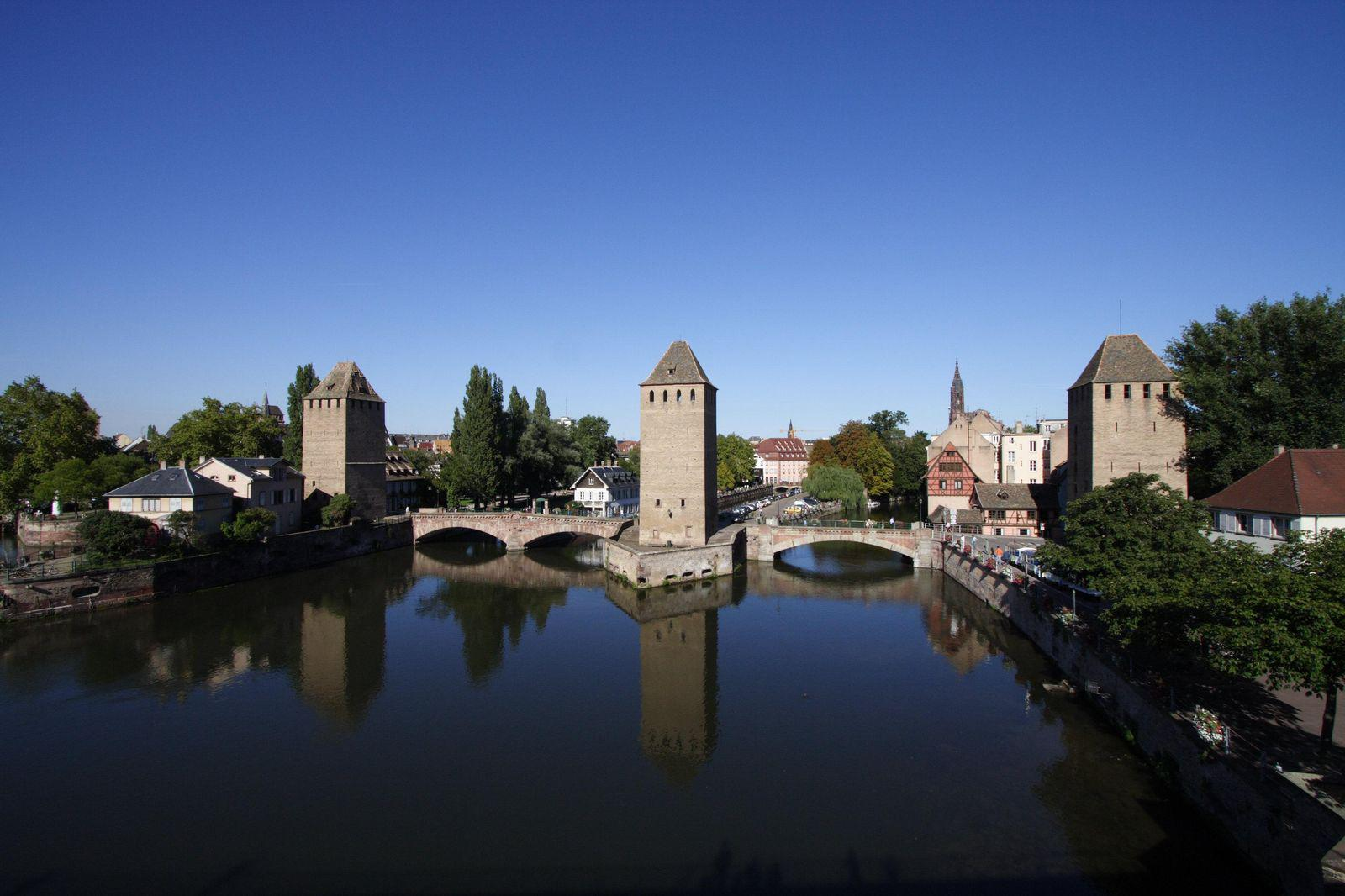 Ponts couverts_Strasbourg