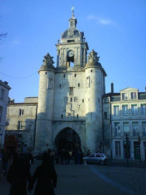 Porte de la Grosse Horloge_La Rochelle