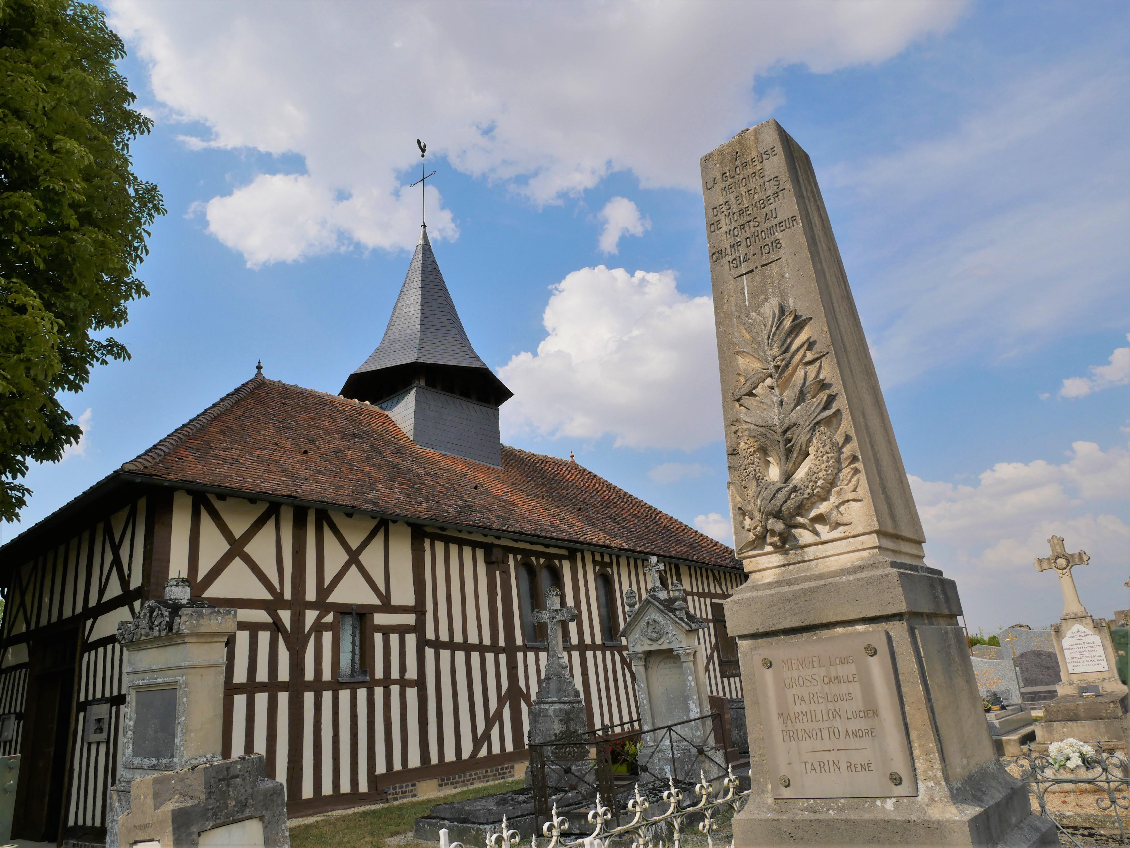 Eglise Saint Jean Baptiste de Morembert
