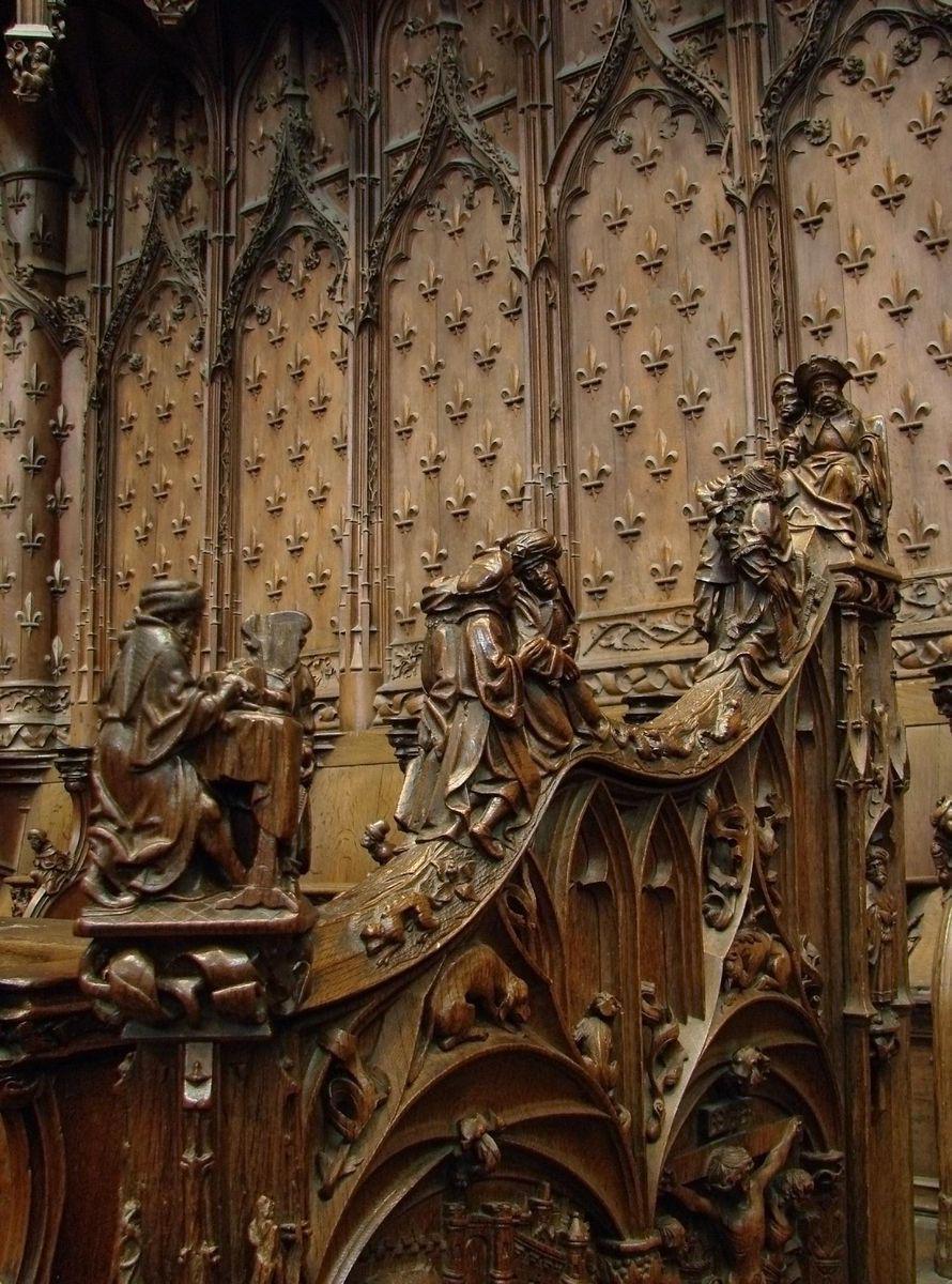 Stalles de Cathédrale_Amiens