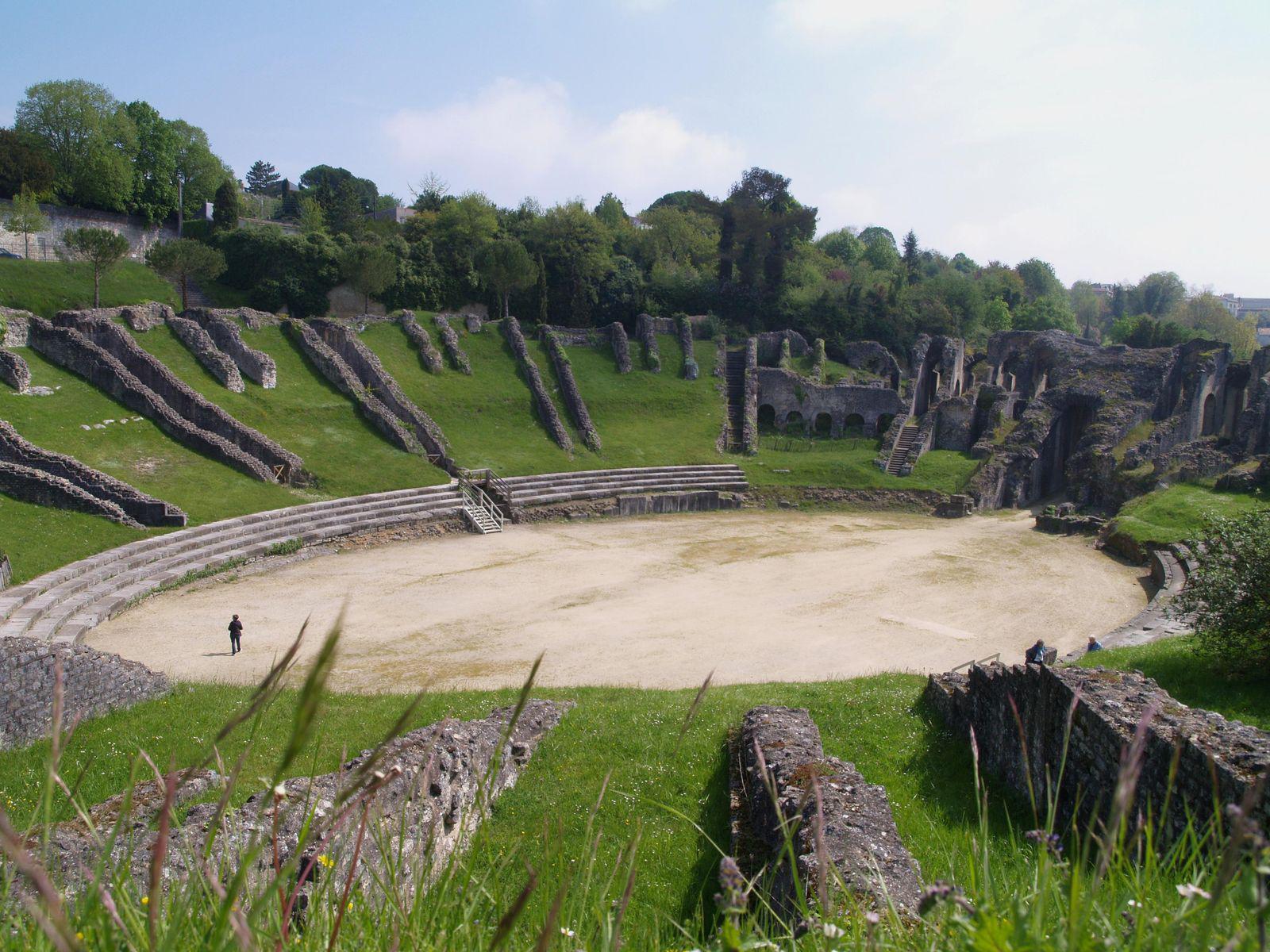 Amphithèatre gallo-romain_Saintes