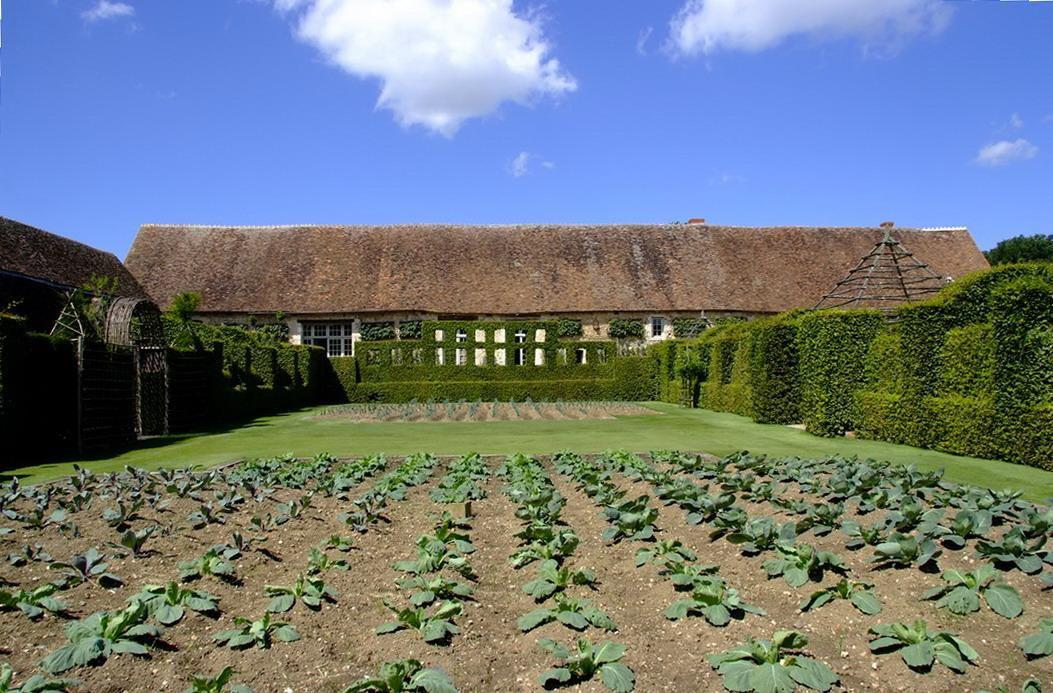 Jardins du prieuré Notre-Dame d'Orsan_Maisonnais