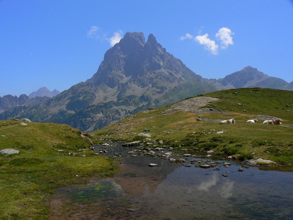Vue du Pic du Midi_Vallée d'Ossau