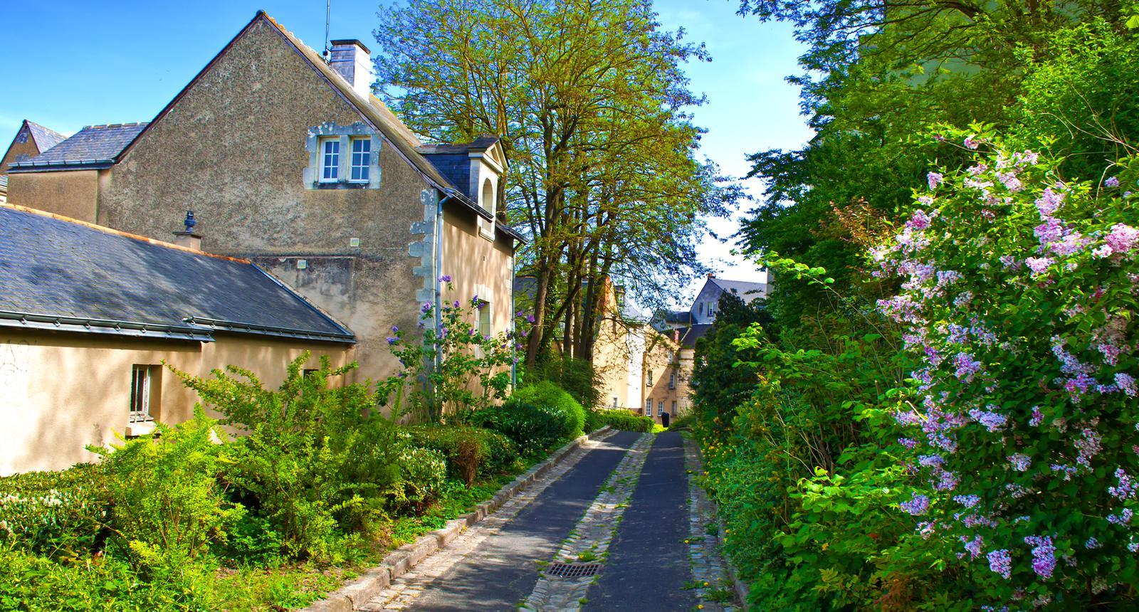 Ruelle à Saumur