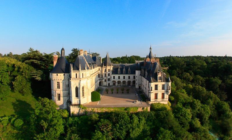 Le Château de Chaumont-sur-Loire, la face Nord - Domaine de Chaumont-sur-Loire