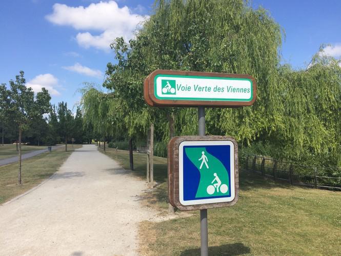 Voie Verte des Viennes - Sainte Savine