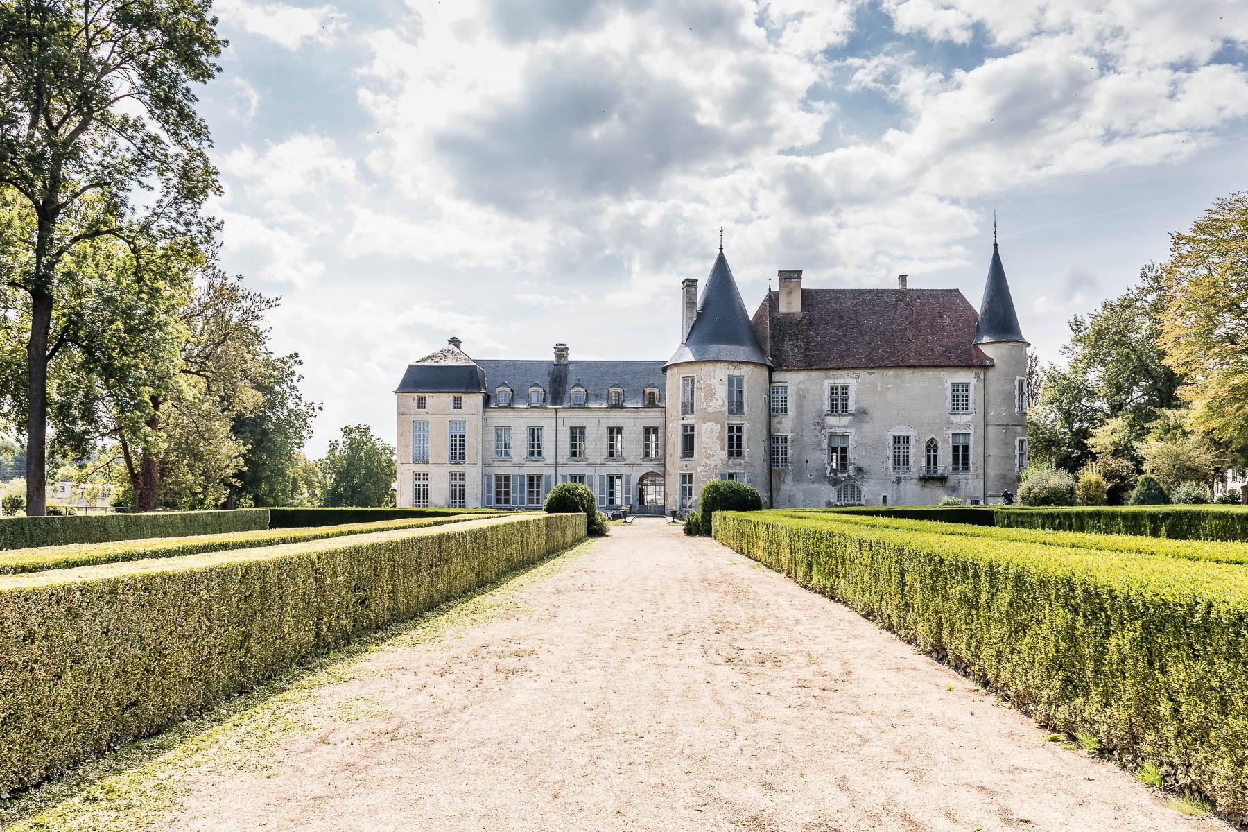 Parc du château de Taisne, les Riceys en Champagne