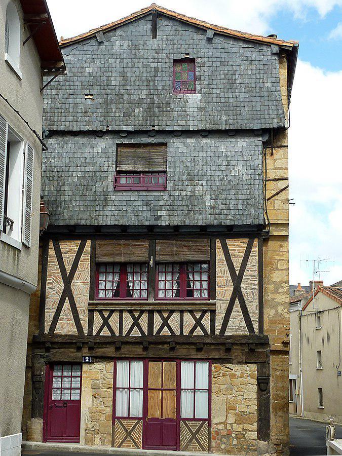 Maison ancienne rue des Haquenées - Thouars