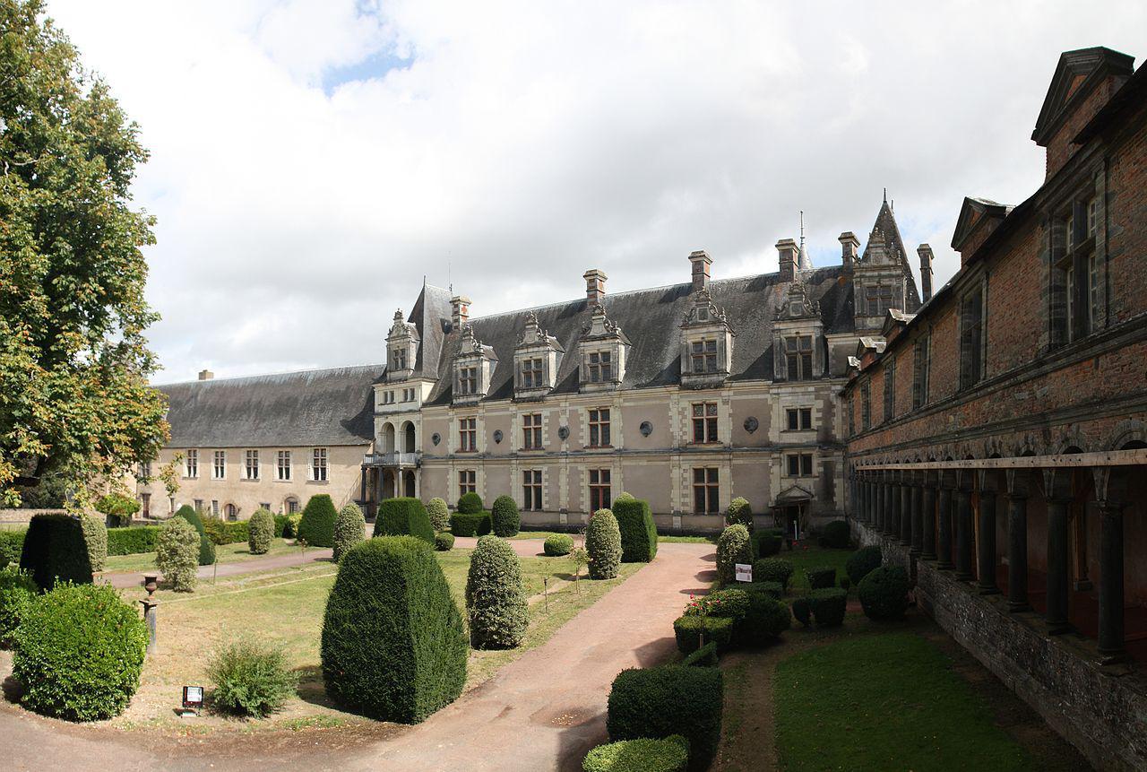 Château de Châteaubriant, façades intérieures
