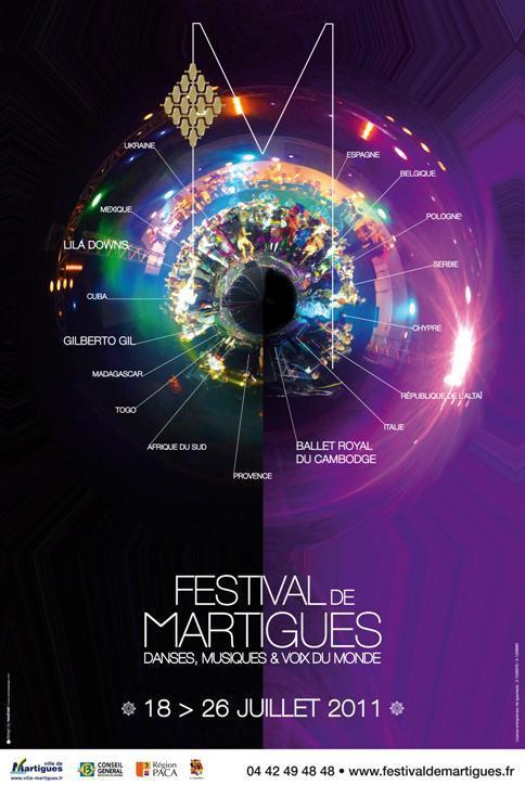 L'affiche du Festival de Martigues
