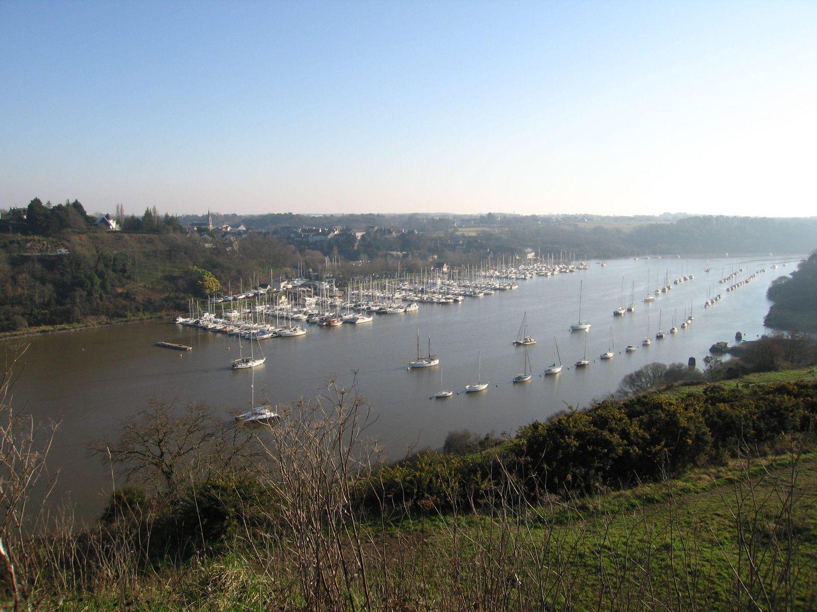 Roche Bernard - port de plaisance_La Roche-Bernard